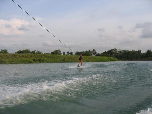wakeboarding training